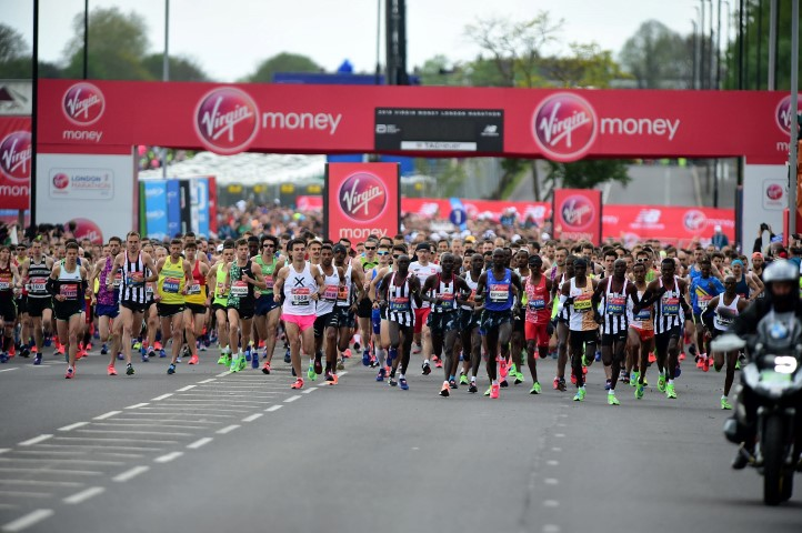 London Marathon places for Treloar's