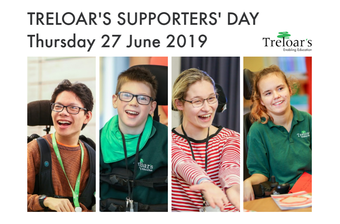 Treloar's supporters day
