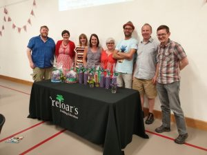 The winning quiz team