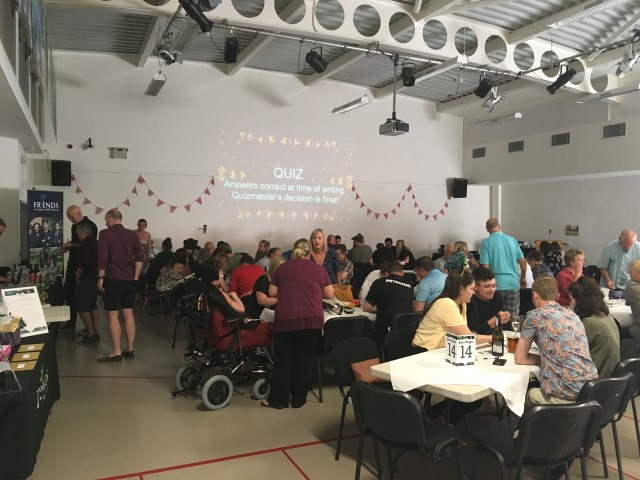 Lots of guests at the Amery-Treloar quiz night