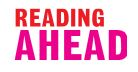 Logo for the Reading Ahead Challenge