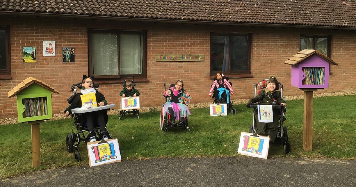 Treloar's primary children celebrate World Book with new forest schoolDay