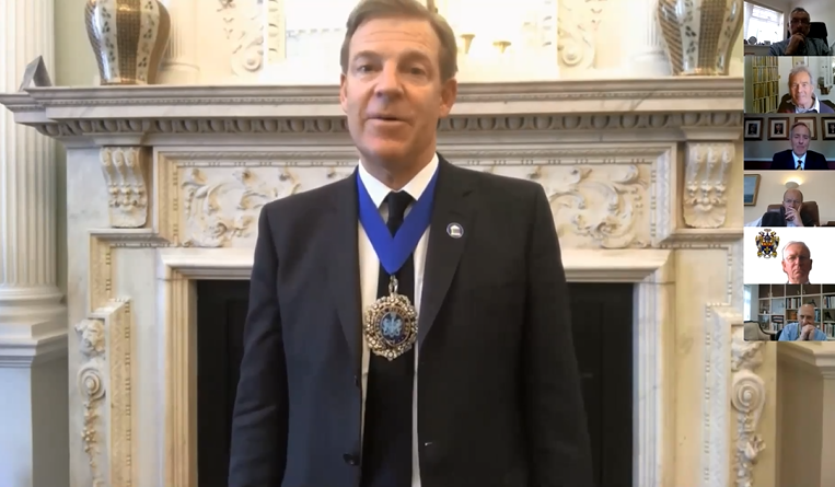 Lord Mayor's virtual visit to Treloar's