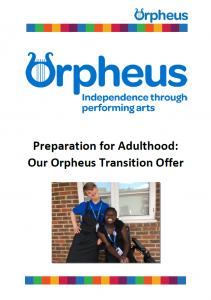 Orpheus transition brochure